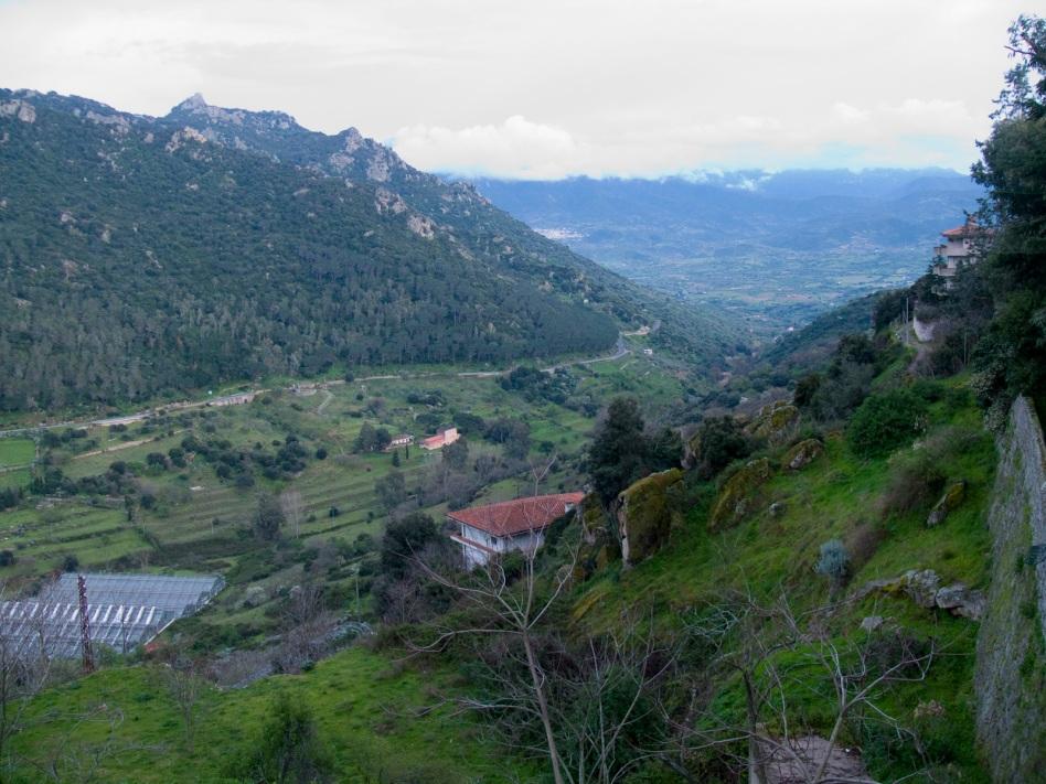 Utsikt från Nuoro
