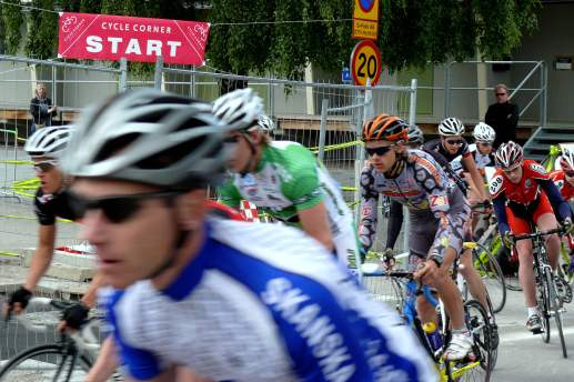 Starten i Luma GP 2009