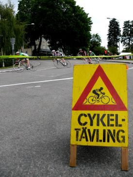 varning - jobbigt att tävla