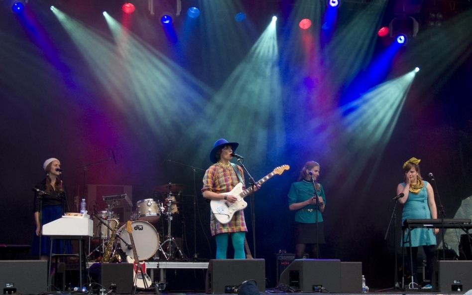 Jenny Wilson och band