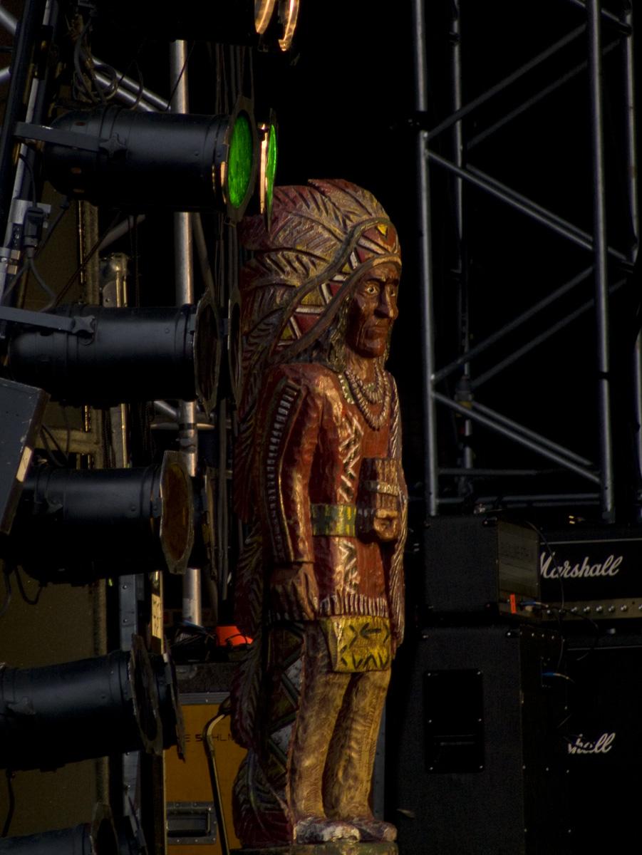 Malplacerad indian på stora scenen