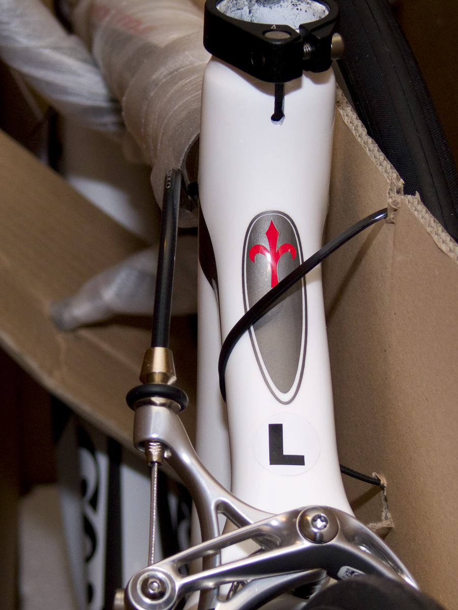 Unboxing of Wilier Mortirolo