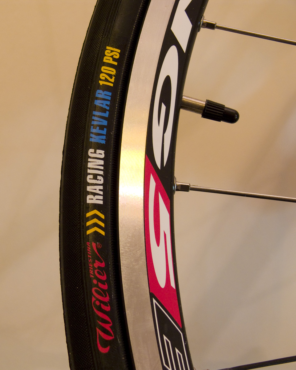 Wilier Racing Kevlar tires tyres