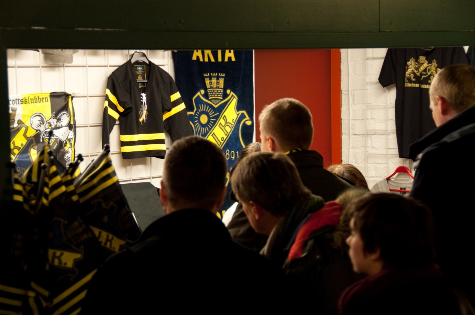 shop aik hockey merchendise hovet