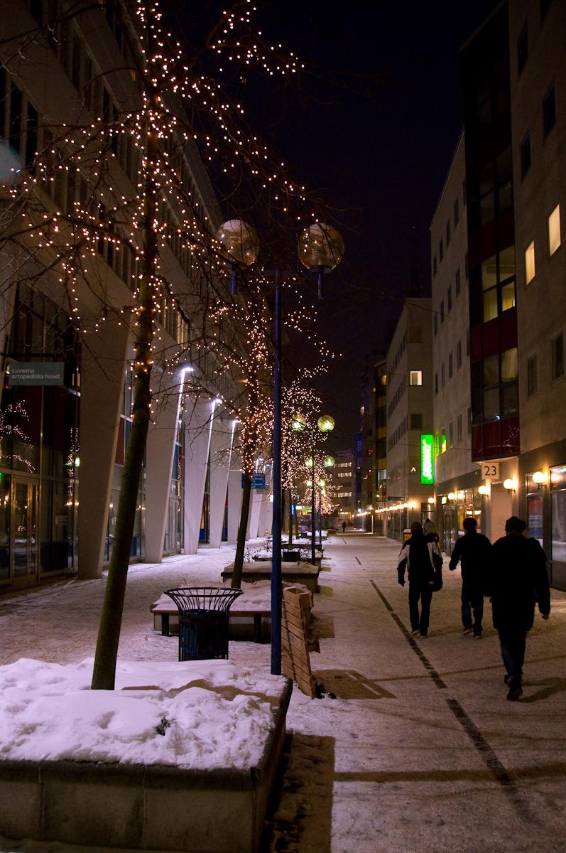 Vägen från Gullmarsplan till Hovet och Globen