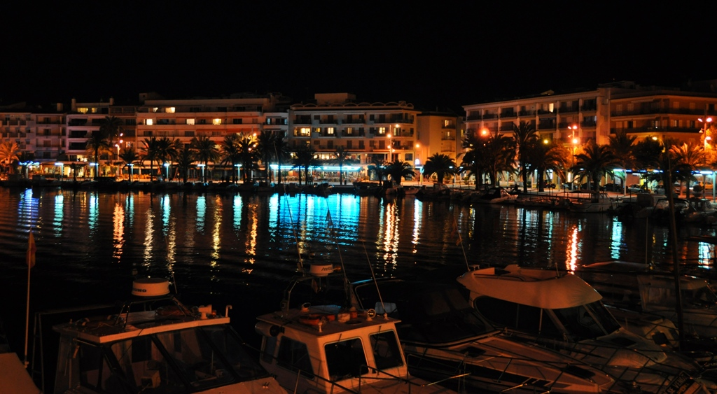 Port d'Alcudia by night