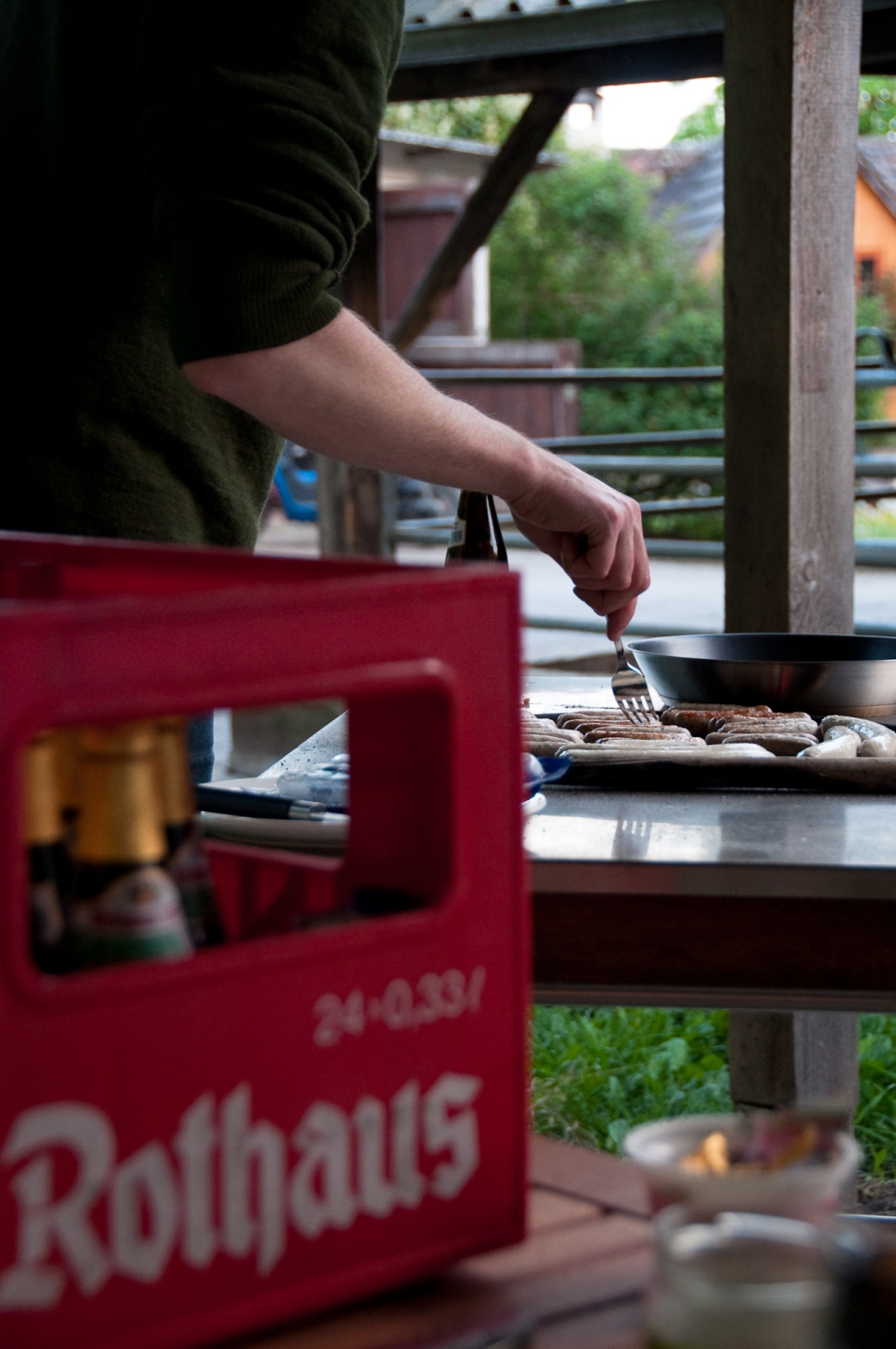 grill rothaus öl beer barbecue