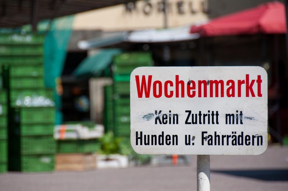 radolfzell wochenmarkt marknad market place