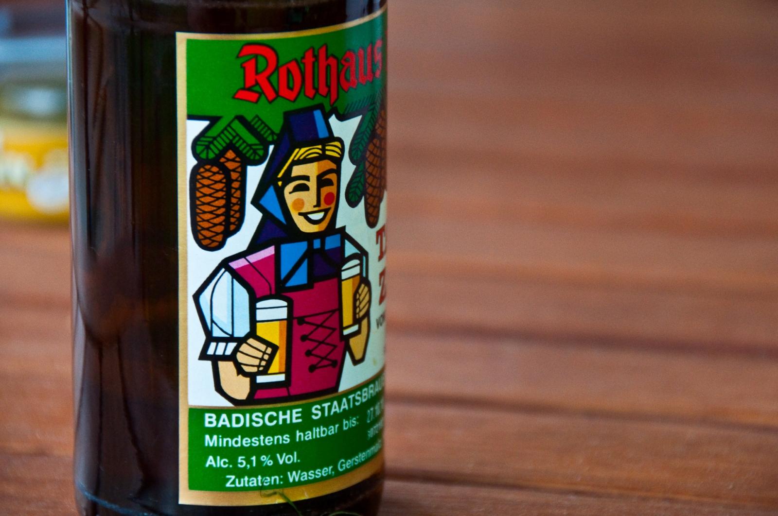 rothaus flaska öl beer bottle