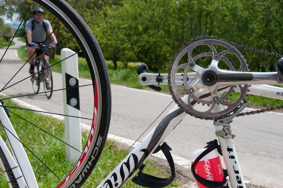 wilier cykel bicycle bike punktering panne flat tyre