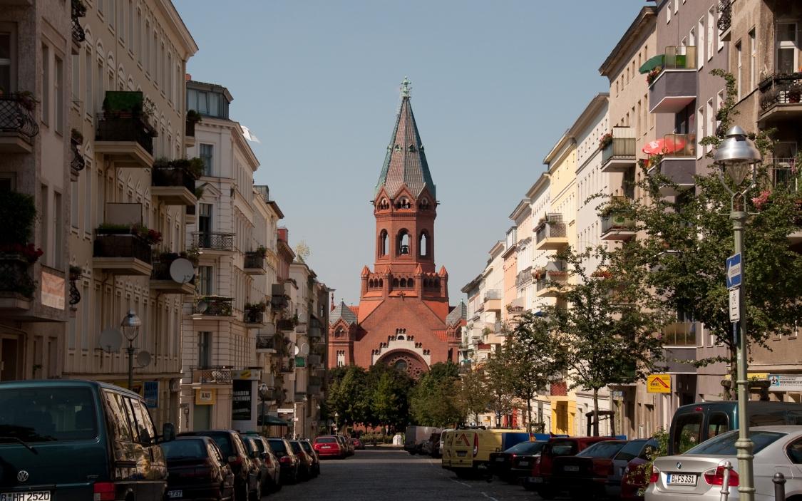 Passionskirche, Heimstrasse