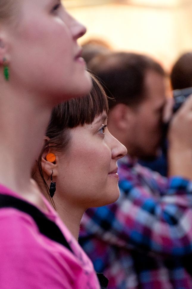 Publik med sinne för tinnitus