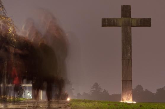 Korset, Skogskyrkogården