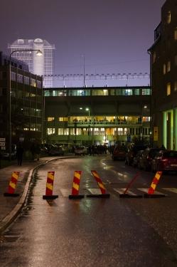 AIK-Napoli på Råsunda - Sista promenaden till Råsunda