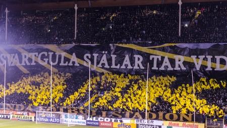 AIK-Napoli på Råsunda - Tifo 2