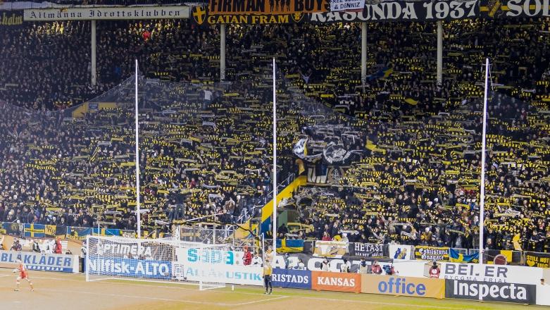 AIK-Napoli på Råsunda - Halsdukar