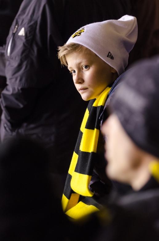 AIK-Napoli på Råsunda - Sorgsen gnagare på Östra Övre efter matchen