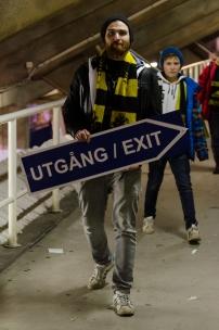 AIK-Napoli på Råsunda - Lämnar en legendarisk fotbollsstadion för sista gången