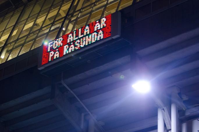 AIK-Napoli på Råsunda - Tack själv