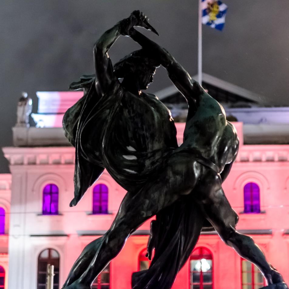 Statyn Bältesspännarna Göteborg
