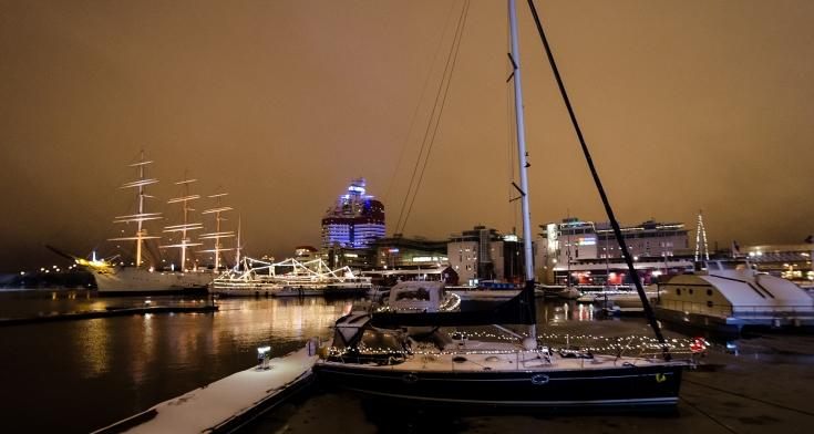 Lilla Bommen och stora masten