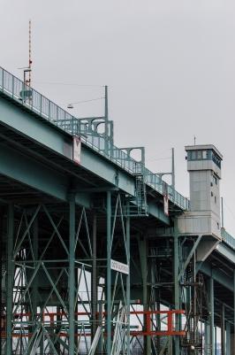 Bron över floden Älv
