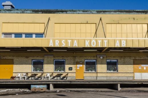 Uteservering à la Gröna Linjen