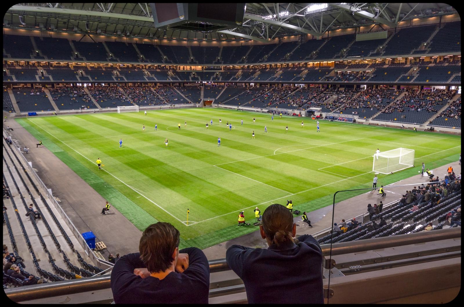 Death Star Arena mot HJK