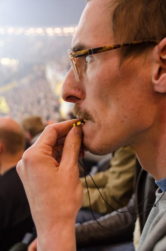 Nervöst trots AIK-ägd match