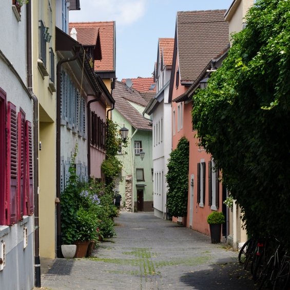 Gränd i Konstanz
