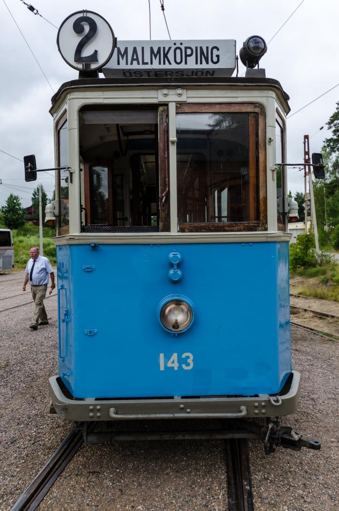 Vagnen från fältet till stan