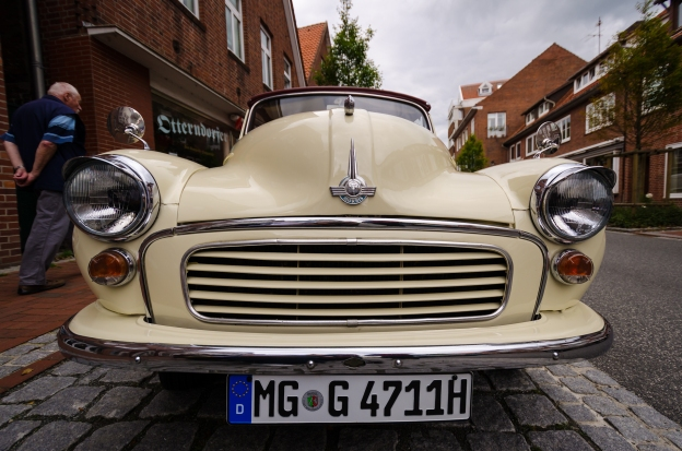 Morris Minor i Otterndorf