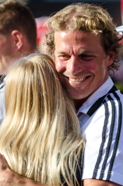 En kram för kaptenen