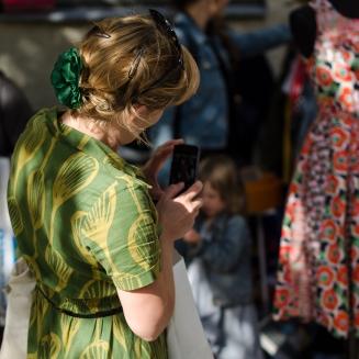 Johanna, klänningsfotograf