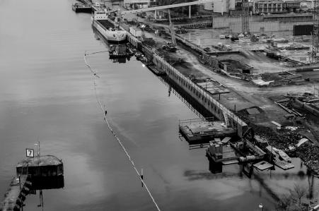Hammarbyhamnens sista hamnlika kaj