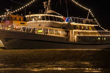 Båt vid Lilla Bommen