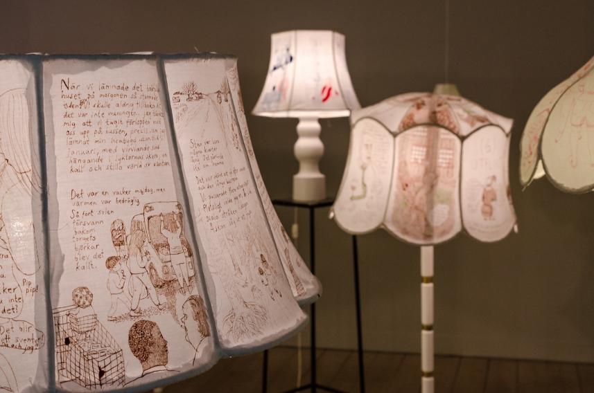 Lampstory på Grafikens hus
