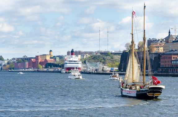 Är inte segling rätt borgerligt?