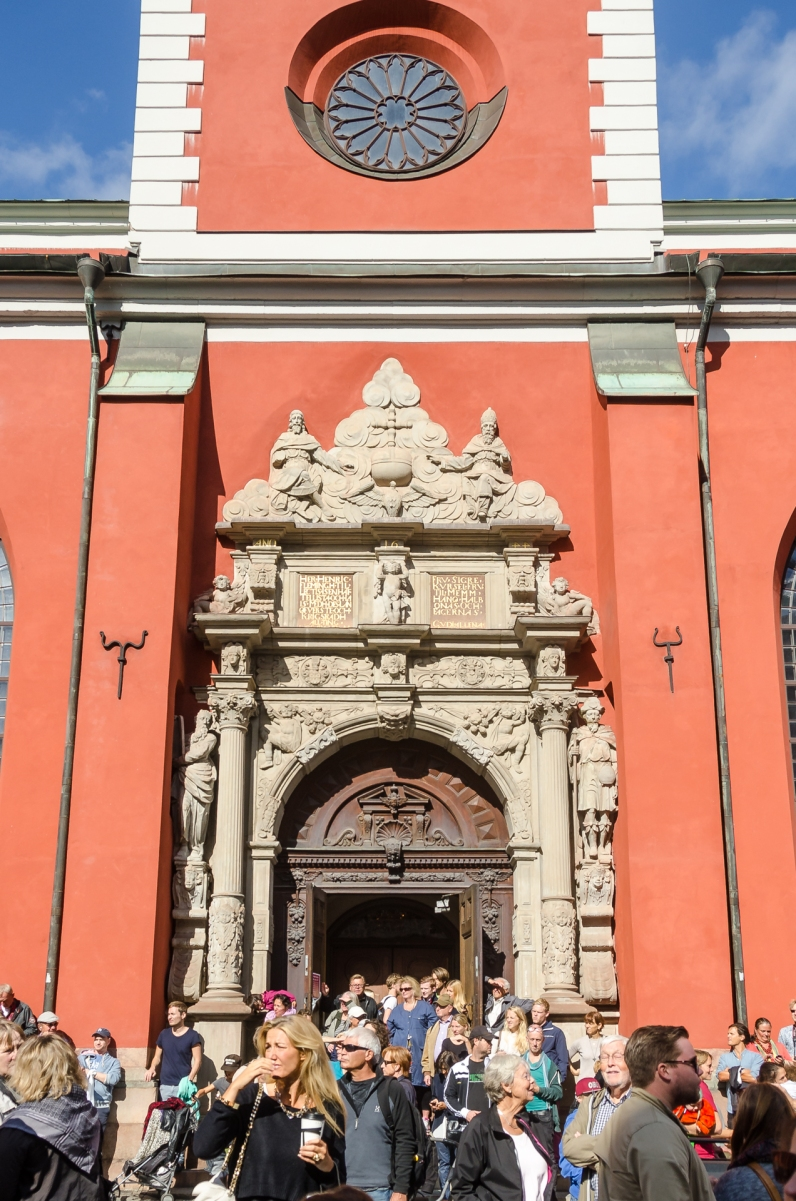 Jacobs kyrka ringde i sina klockor mot nazisterna