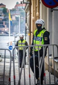 Hela turiststockholm avspärrat åt nazister