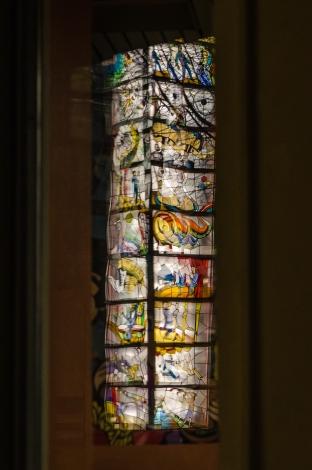 Tyrols mosaik speglad