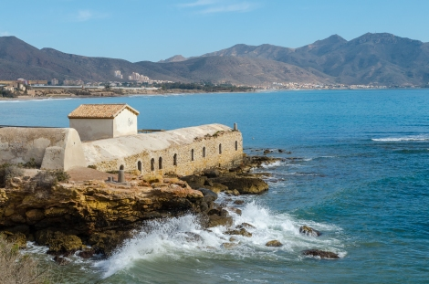 Isla Planas romerska bad