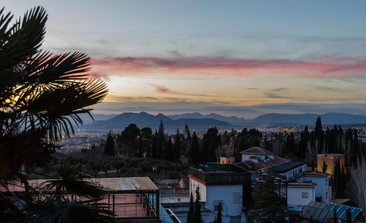 Hotellutsikt över Alhambra