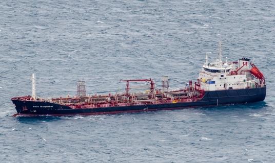 Cartagena har en oljehamn