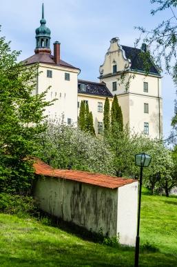 Mot slottsparken