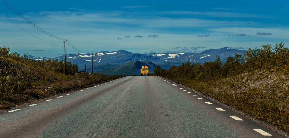 E10:an mot Abisko i cinemascope