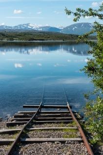 Här går tåget till Torneträsk