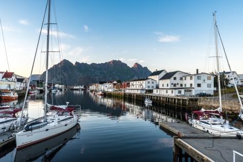 Hamnen i Henningsvaer