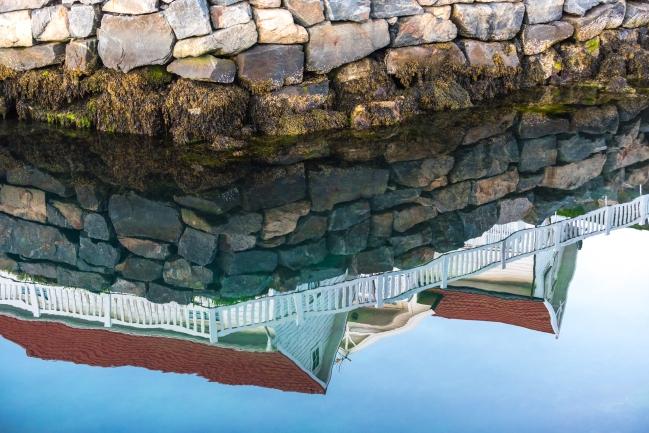 Spegling i Henningsvaer