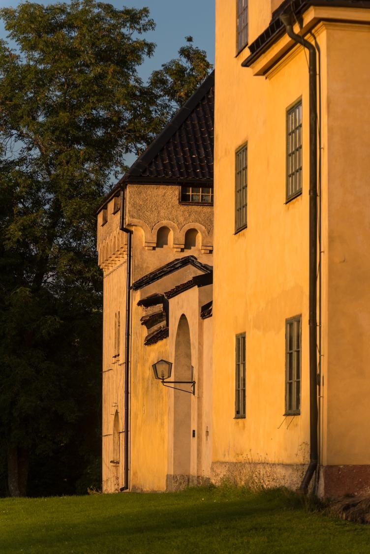 Gyllene timmen-fasad